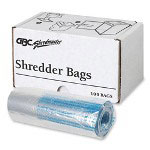 GBC® 1765016 Personal Shredder Bags, 100/roll, clear