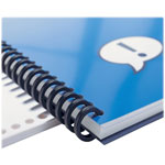 "GBC® Spines, 5/8"" Diameter, Black, 100 per Box"