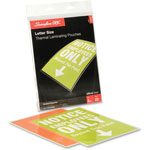 GBC® 9 x 11 1/2 Letter Size Laminating Pouches, 3 Mil, 25/Pack