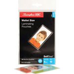 GBC® Wallet Card Size Clear Laminating Pouches, 2 5/8 x 3 7/8, 10/Pack