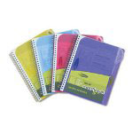 GBC® College Ruled View-Tab Student Notebook, 2-Tabs