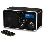 Grace Wireless Internet Radio w/Remote, Aux