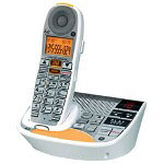 GE Amplified Dect 6.0 Phone for Moderate-Severe Hearing Loss with Digital Answerer & Caller ID