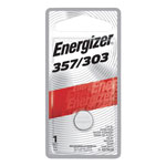 Energizer Watch/Electronic Battery, SilvOx, 357, 1.5V, MercFree