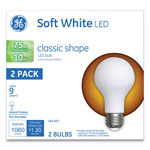 GE Classic LED Soft White Non-Dim A21, 10W, 2/Pack