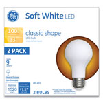 GE Classic LED Soft White Non-Dim A21, 13W, 2/Pack