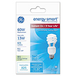GE Compact Fluorescent Bulb, 13 Watts, Spiral, Soft White