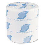 General Small Roll Bath Tissue, 1-Ply, 500 Sheets/Roll, 1.64 in Core