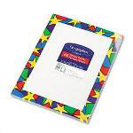 Geographics Stars Design Letterhead Paper, 8 1/2 x 11, 24 lb. Bond, 100 Sheets/Pack