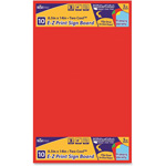 "Geographics Sign Board, E-Z Print Primary Color, 8.5"" x 14"", 10/PK, AST"