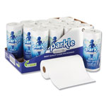 Sparkle ps Perforated Paper Towel, White, 8 4/5 x 11, 85/Roll, 15 Roll/Carton