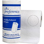 "Georgia Pacific Preference® 27385 White 2 Ply Perforated Roll Paper Towels, 8 13/16"" x 11"""