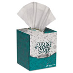 Angel Soft Premium Facial Tissue, 2 Ply, Cube Box