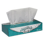 Georgia Pacific Premium Facial Tissue, Flat Box, 100 Sheets/Box, White