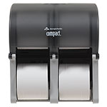 Georgia Pacific Tissue Dispenser, Holds 6000 2-Ply/12000 1-Ply Sheets, Smoke