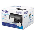 Angel Soft Tissue Dispenser and Angel Soft ps Tissue Start Kit, 4 750- Sheet Rolls