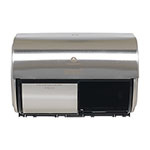 Georgia Pacific Compact Horizontal 2-Roll Tissue Dispenser, Stnlss Steel, 10 1/8 x 6 3/4 x 7 1/8