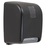Sofpull Towel Dispenser, High Capacity, Black