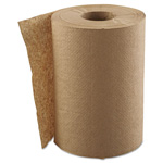 "GEN Hardwound Roll Towels, 1-Ply, Natural, 8"" x 300 ft, 12 Rolls/Carton"