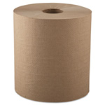 "GEN Hardwound Roll Towels, 1-Ply, Natural, 8"" x 800ft, 6 Rolls/Carton"
