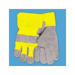 Galaxy 1861 Men's Premium Leather Palm Gloves, Large