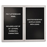 Ghent MFG Enclosed Letterboard, 48 x 36
