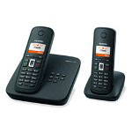 Siemens Gigaset C385-2 Digital Cordless Phone with High Performance, Color Display and Digital Answering Machine