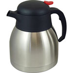 Genuine Joe Everyday Vacuum Carafe, 1.0L., Stainless Steel
