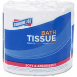 Genuine Joe Bath Tissue, 2-Ply, 550SH/RL, 80/CT, WE