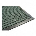 Genuine Joe Rubber Floor Mat, 4' x 6', Green