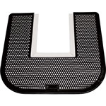 Genuine Joe Deordorizing Z-Mat, Commode Mat, Black