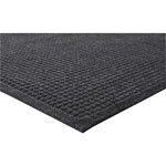 Genuine Joe Eternity Rubber Floor Mat, 2' x 3', Gray