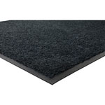 Genuine Joe Nylon & Rubber Nylon & Rubber Carpet Mat, 3' x 5', Black