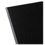 "Genuine Joe Brush Tip Rubber Scraper Mat, 24"" x 32"", Black"