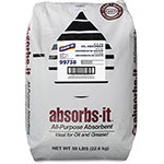 Genuine Joe Oil-Dry Clay Absorbent, 50lb, Gray