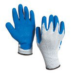 Box Partners Rubber Coated Palm Glove Large Size