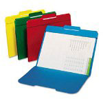 Cardinal Secure File Folders Top Tab Folders, Assorted Colors, Letter Size