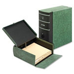 "Cardinal 22SL-GRE Eclipse Box File, 10 13/16""W x 11 5/8""D x 4 5/8""H, Green"