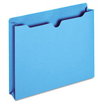 TOPS File Jacket, Two Inch Expansion, Letter, Blue, 50/Box