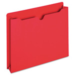 TOPS File Jacket, Two Inch Expansion, Letter, Red, 50/Box