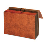TOPS Wallet, Heavy Duty, 24 Pt., 5 1/4'' Exp., Legal, Extra Wide, Brown