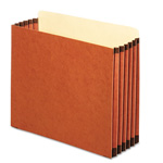 Pendaflex File Cabinet Pockets, Straight Cut, 1 Pocket, Letter, Redrope