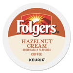 Folgers Gourmet Selections Hazelnut Cream Coffee K-Cups, 24/Box
