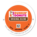 Dunkin' Donuts K-Cup Pods, Original Blend, 24/Box