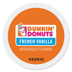 Dunkin' Donuts K-Cup Pods, French Vanilla, 24/Box