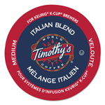 Timothy's Coffees Italian Blend Coffee K-Cups, 24/Box