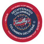 Timothy's Coffees Colombian Decaf Coffee K-Cups, 24/Box