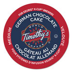 Timothy's Coffees German Chocolate Cake Coffee K-Cups, 24/Box