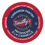 Timothy's Coffees Cinnamon Pastry Coffee K-Cups, 24/Box