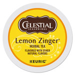 Celestial Seasonings® Lemon Zinger Herbal Tea K-Cups, 24/Box